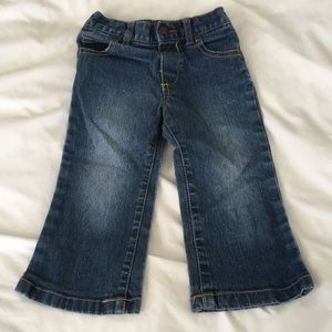 Girls Faded Glory blue jeans size 18m